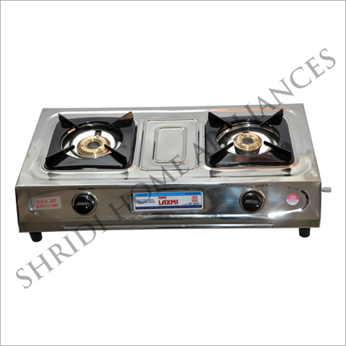 Rani Laxmi Two Burner SS Gas Stove