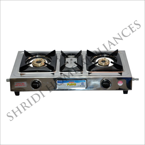 Two Burner Manual Ignition Gas Stove