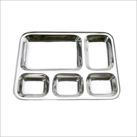 Stainless Steel Square Bhojanthal