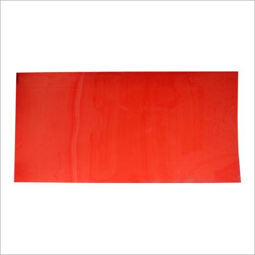 Red PVC Sheet