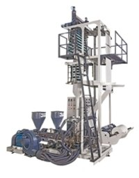 Two Layer A+B+A Rotation Type Blown Film Plant