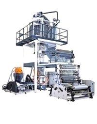 Three Layer Blown Film Plant (A+B+A  Haul Off Rotation Type)