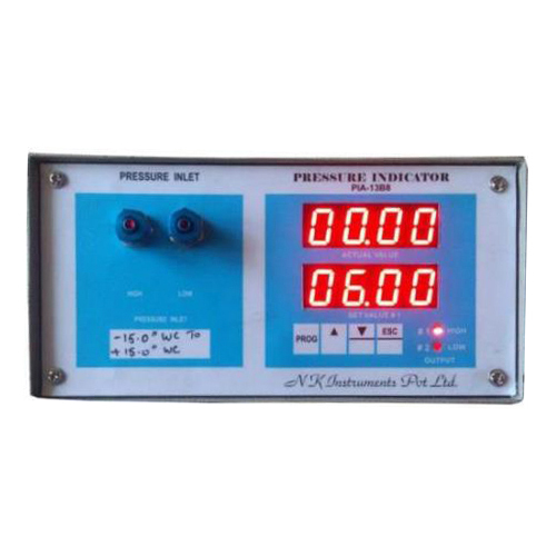 Digital Differential Pressure Gauge - Panel mounted external powered
