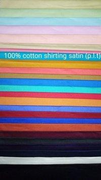 Shirting Satin Fabric  (P.L.T) 58