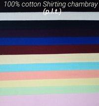 Cotton Shirting Chambray (P.L.T) 58