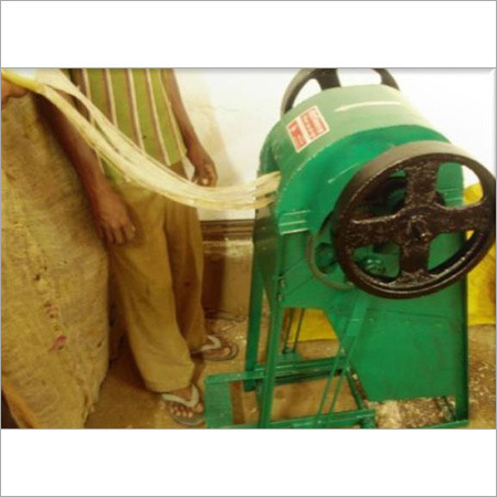 Banana Fibre Decorticator Machine (Pedal Motor)