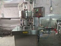 Automatic Rotary 9 Head Perfume Filling Machine