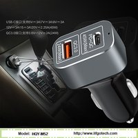 Dual USB Port Quick Car Charger