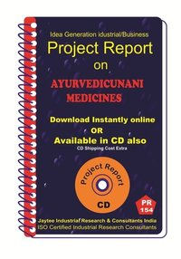Ayurvedic Unani Medicines manufacturing eBooK