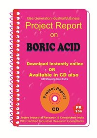 Boric Acid manufacturing Project Report eBook