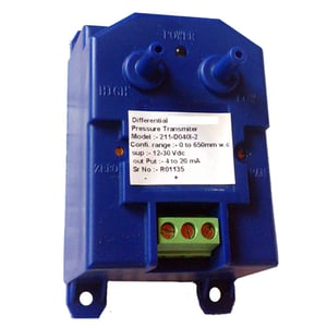 Low range Differential Pressure Indicating Transmitter with PP connectors