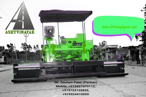 Asphalt hot Mix paver finisher