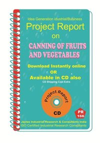 Canning of Fruits and Vegetables manufacturing eBook