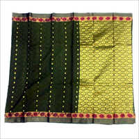 Ladies Cora Cotton Empose with Putta Saree