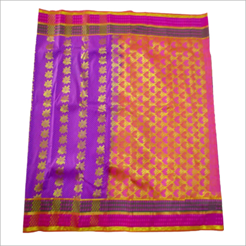 Ladies Embose Putta Pattern Modern Saree