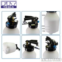 FIT TOOLS 6L Two Way Pneumatic Engine Gear ATF Oil and Fluid Extractor with 5pcs Hose Set