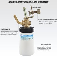 FIT TOOLS 250 c.c. Brake Oil and Fluid Automatic Bleeder