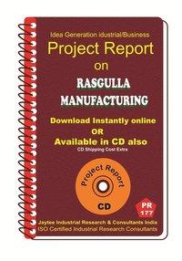 Rasgulla manufacturing Project Report eBook