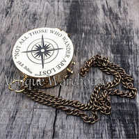 Not All Those Brass Compass With Chain