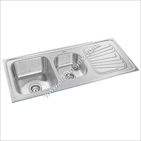 Single Bowl Drain Board With Vegetable Bowl Sink