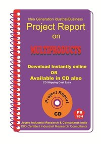 Multiproducts manufacturing project Report eBook