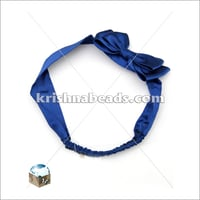 Satin Hair Band with Bow