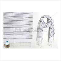 High Quality Women'S Viscose Printed Striped Fancy Shawl