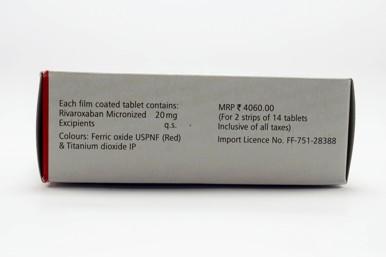Xarelto 20Mg Tablets