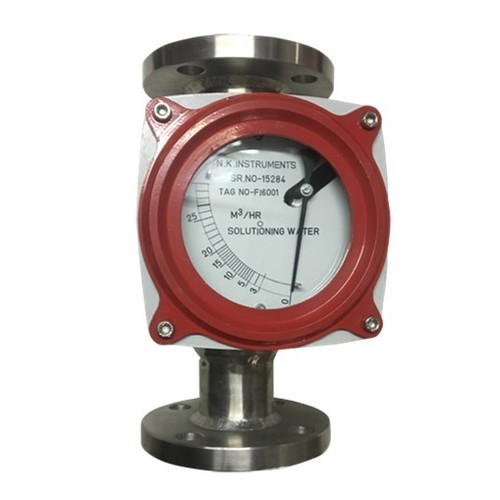 Pointer type Flanged end Metal Tube Rotameter