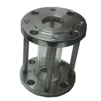 Sight Glass Flow Gauge - SS flanged ends