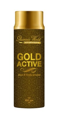Gold Active face & body grains 200ml