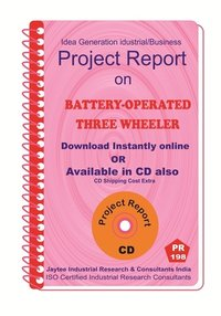 Battery Operated Three Wheeler Project Report ebook