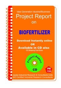 Biofertilizer Manufacturing Project Report eBook