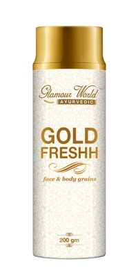 Gold Freshh Face & Body Grains 200ml