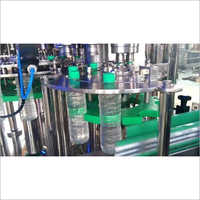 Pet Bottle Rinsing, Filling & Capping Machine