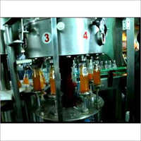 Softdrink Glass Bottle Filling And Capping Machine