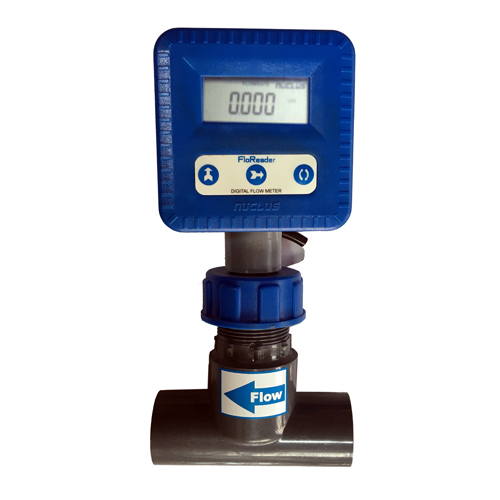 Flow Meter - Battery operated Insertion Paddle Wheel type ( FloReader )