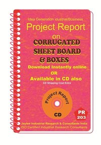 Corrugated Sheet Board and Boxes Project report eBook