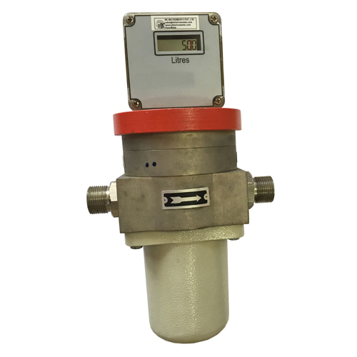 Flow Meter- Positive Displacement type