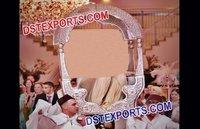 Wedding Moroccan Style Silver Palki Doli
