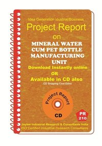 Mineral Water Cum Pet Bottle manufacturing Project Report eBook