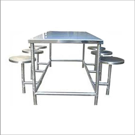 SS Dining Table Set