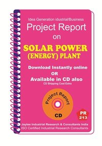 Solar Power Energy Plant Project Report eBook