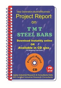 TMT Steel Bars manufacturing Project Report eBook