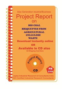 Bio Coal Briquettes From Agricultural Cellulose Waste eBook
