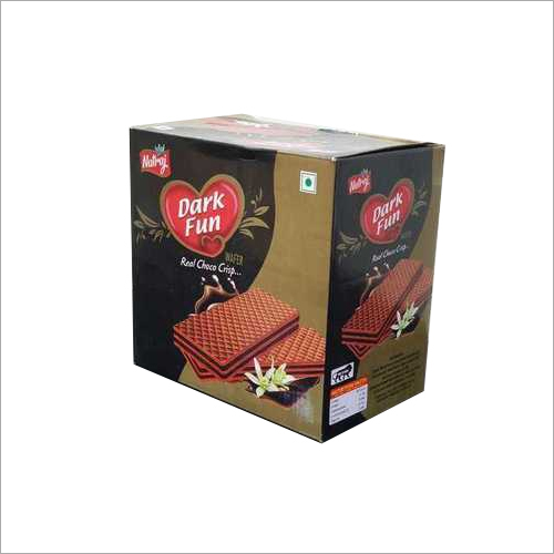 Dark Fun Cream Wafer Biscuit