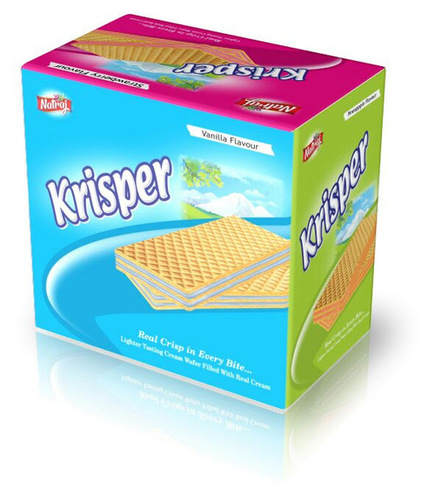 Krisper Cream Wafer Biscuit Box
