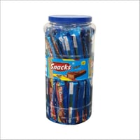 Snacks Delight Choco Coated Wafer Biscuit Jar