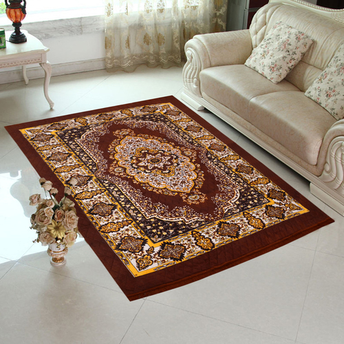 Home Elite Jute Carpet 5x7 feet,Brown