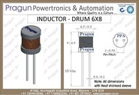 33mH 6x8 Inductor